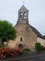 Entrée côté Ouest de l'église Saint Marie-Madeleine