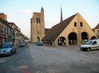 Halle du marché à Egreville